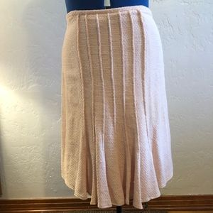 Neiman Marcus, pink skirt, size 14